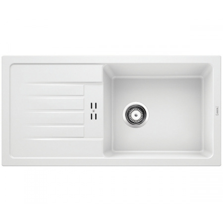 Blanco Favum XL 6 S Silgranit Zlewozmywak granitowy jednokomorowy 86x43,5 cm biały 524235