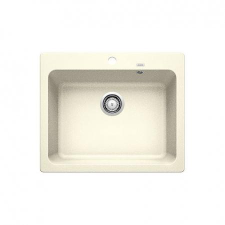 Blanco Naya 6 Zlewozmywak granitowy Silgranit PuraDur jednokomorowy 61,5x51 cm bez korka automatycznego, jaśminowy 519642