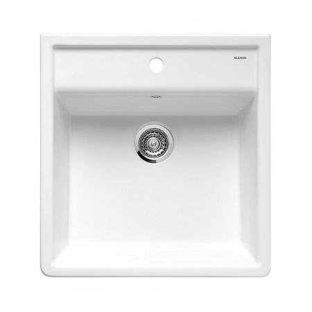 Blanco Panor 60 Zlewozmywak ceramiczny 60x63 cm bez korka automatycznego, biały połysk 514486