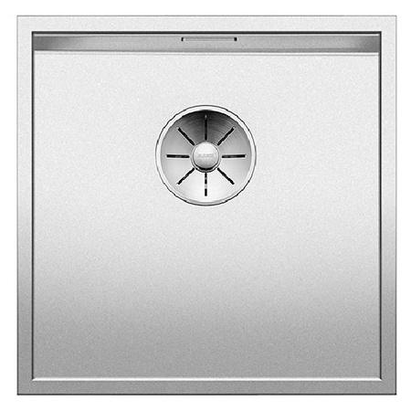 Blanco Zerox 400-U Zlewozmywak stalowy jednokomorowy 44x44 cm bez korka automatycznego stalowy 521558