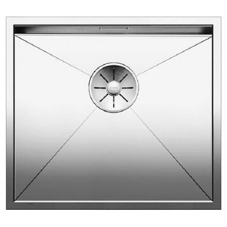 Blanco Zerox 450-IF Zlewozmywak stalowy jednokomorowy 49x44 cm bez korka automatycznego, stalowy 521586