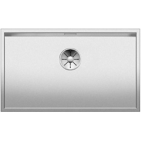 Blanco Zerox 700-U Zlewozmywak stalowy jednokomorowy 74x44 cm bez korka automatycznego stalowy 521560
