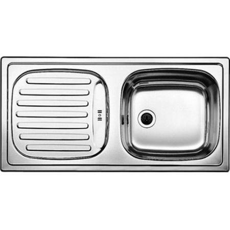 Blanco Flex Zlewozmywak stalowy jednokomorowy 86x43,5 cm bez korka automatycznego stalowy mat 511917