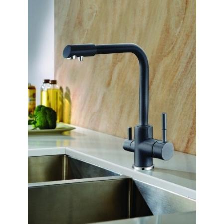Blue Water Amanda 44 Bateria kuchenna dwuobwodowa do filtrów wody, czarny metalik 5901730613551
