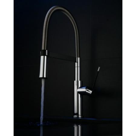 Blue Water Redo Jednouchwytowa bateria kuchenna z wyjmowaną słuchawką z przełącznikiem strumienia wody, chrom 5901730614497