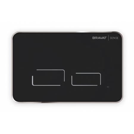 Bravat Sense Przycisk spłukujący do WC elektroniczny czarny BVT-SENSE/BL
