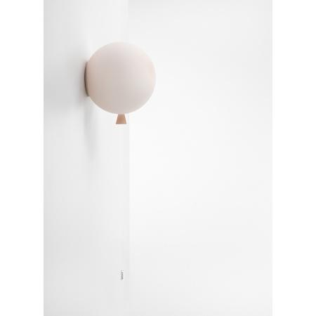Brokis Memory Lampa ścienna 25 cm balonik, różowa PC881CGC30