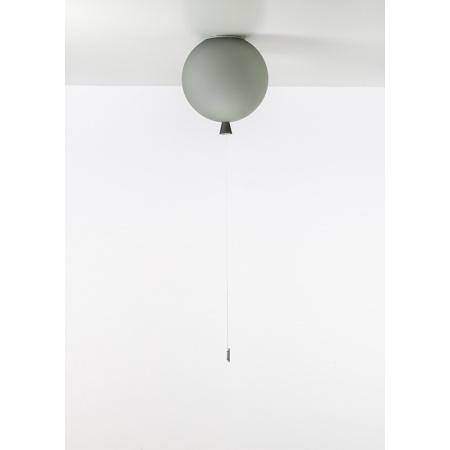 Brokis Memory Lampa sufitowa 25 cm balonik, szara PC878CGC617