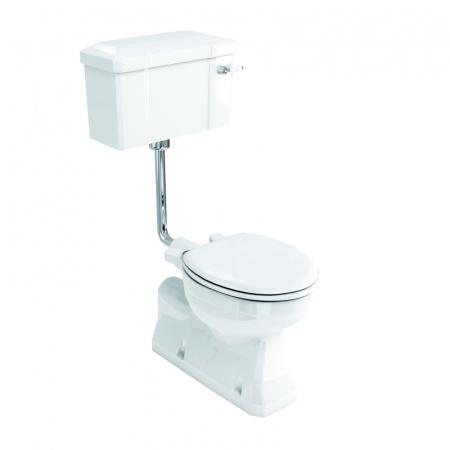 Burlington Low level Toaleta WC kompaktowa 52x74x107,5 cm, biała P19