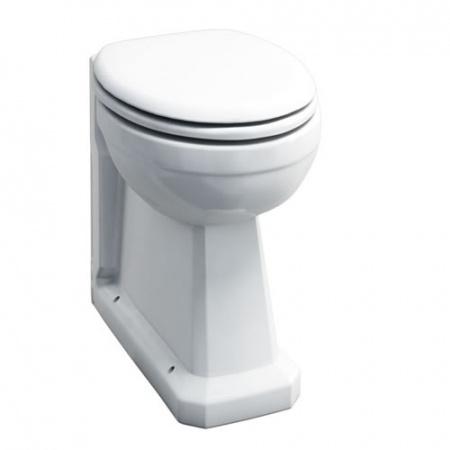 Burlington Regal Back to wall Toaleta WC stojąca 36,5x48,5x48 cm, biała P15
