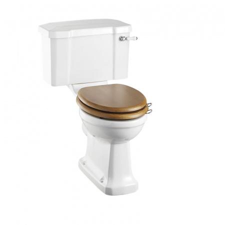Burlington Regal Close coupled Toaleta WC kompaktowa 52x73x84,5 cm, biała P12