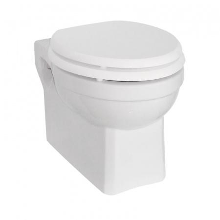 Burlington Toaleta WC podwieszana 36,5x50x35,5 cm, biała P10