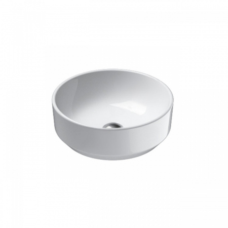 Catalano Green Umywalka nablatowa 42 cm bez otworu na baterię, z powłoką CataGlaze, biała 142AGR00