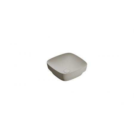 Catalano Green Lux Umywalka nablatowa lub wpuszczana w blat 40x40 cm cement mat 140AGRLXCS