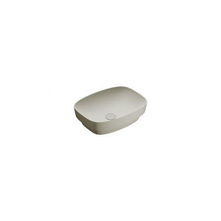 Catalano Green Lux Umywalka nablatowa lub wpuszczana w blat 50x38 cm cement mat 150AGRLXCS