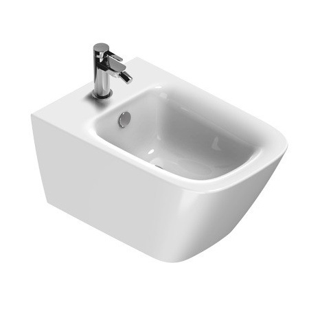 Catalano Green New Flush Bidet podwieszany 55x37 cm, biały z powłoką CataGlaze 1BS55GR00