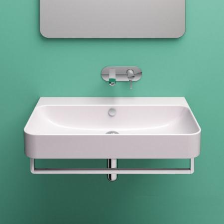 Catalano Green Umywalka 80x50 cm bez otworów na baterię, biała 180GR00