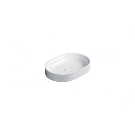 Catalano Horizon Umywalka nablatowa 50x35 cm biały połysk 150AHZ00