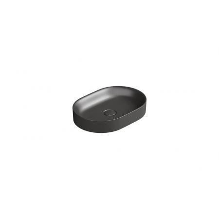 Catalano Horizon Umywalka nablatowa 50x35 cm czarny mat 150AHZNS