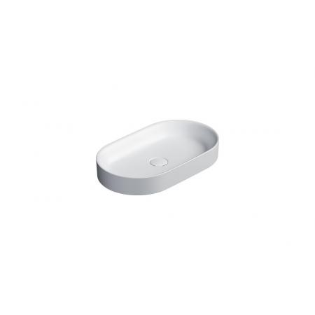 Catalano Horizon Umywalka nablatowa 60x35 cm biały mat 160AHZBM