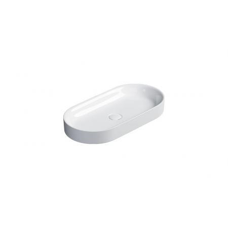 Catalano Horizon Umywalka nablatowa 70x35 cm biała z powłoką Cataglaze 170AHZ00