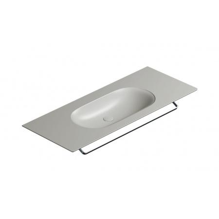 Catalano Horizon Umywalka wisząca lub meblowa 125x50 cm cement mat 1125HZCS