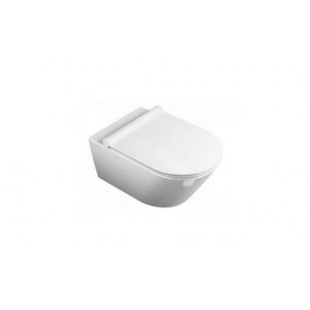 Catalano Zero/Impronta Toaleta WC podwieszana 55x33 cm Newflush bez kołnierza z powłoką CataGlaze, biała 1VS55NR00