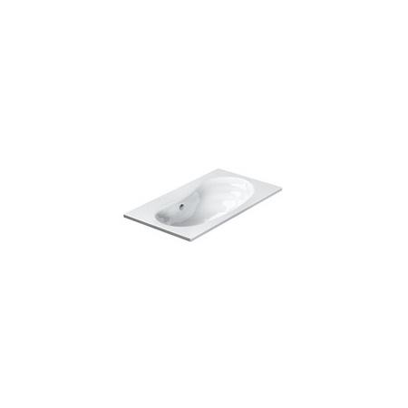 Catalano Impronta Umywalka 80x50 cm bez otworów na baterię, biała 180IM00