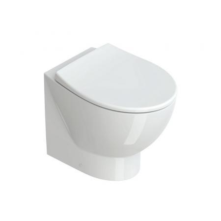 Catalano Italy Toaleta WC stojąca 52x37 cm bez kołnierza biała 1VPECORIT00
