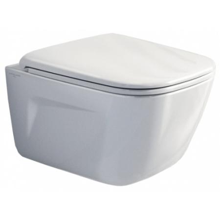 Catalano New Light Newflush Toaleta WC podwieszana37x53 cm bez kołnierza z powłoką CataGlaze, biała 1VSLIR00