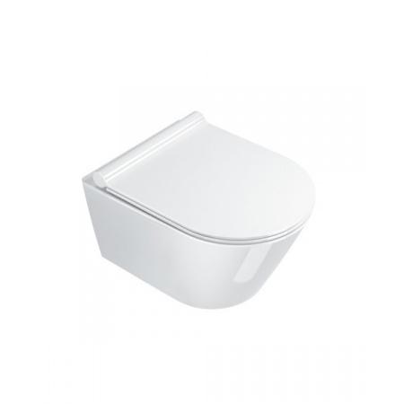 Catalano New Zero Toaleta WC podwieszana 50x35 cm Newflush bez kołnierza biała 1VSZ50R00