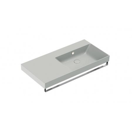 Catalano New Zero Umywalka wisząca lub meblowa 100x50 cm lewa cement mat 110DZEUPCS