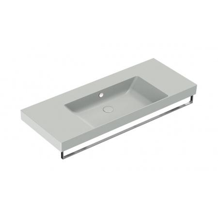 Catalano New Zero Umywalka wisząca lub meblowa 125x50 cm cement mat 1125ZEUPCS
