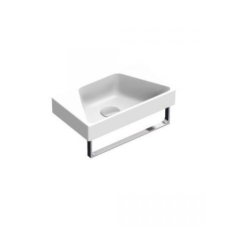 Catalano New Zero Umywalka wisząca lub meblowa 40x23 cm mała biała 14023ZE00