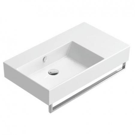 Catalano Premium UP 80 SX Umywalka lewa 80x47 cm, z powłoką CataGlaze biała 180SVP00