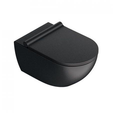 Catalano Sfera Toaleta WC 54x35 cm Newflush bez kołnierza satin black 1VSF54RNS
