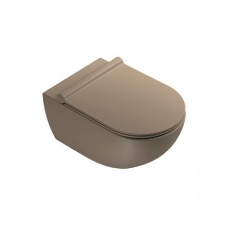 Catalano Sfera Toaleta WC podwieszana 54x35 cm Newflush bez kołnierza satin brown 1VSF54RMS