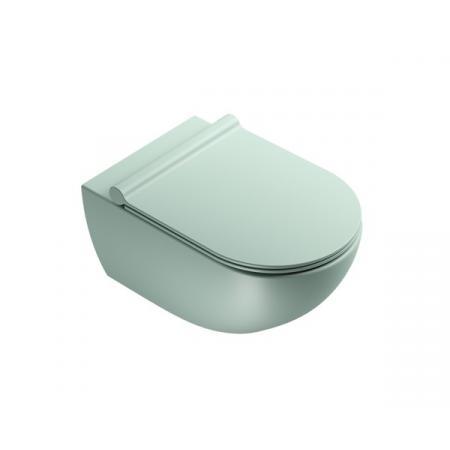 Catalano Sfera Toaleta WC podwieszana 54x35 cm Newflush bez kołnierza satin green 1VSF54RVS