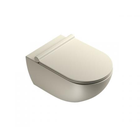 Catalano Sfera Toaleta WC podwieszana 54x35 cm Newflush bez kołnierza satin grey 1VSF54RGS
