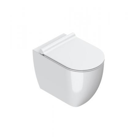 Catalano Sfera Toaleta WC stojąca 54x35 cm Newflush bez kołnierza biała 1VPS54R00