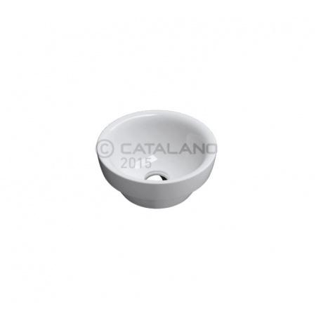 Catalano Sfera Umywalka 35x35 cm z powłoką CataGlaze, biała 135ASF00
