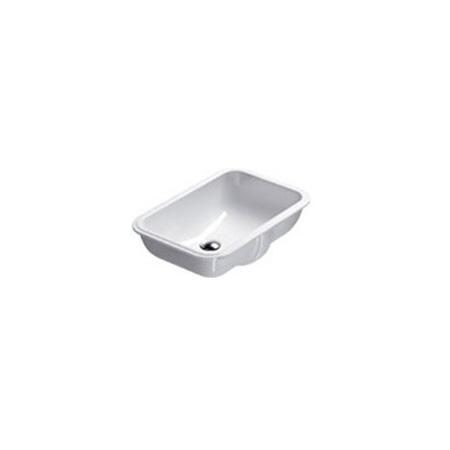 Catalano Sottopiano Umywalka podblatowa 55x38 cm z powłoką CataGlaze, biała 1SOCN00 / SOCN