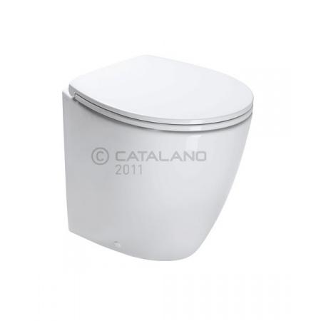 Catalano Velis Toaleta WC stojąca 50x37 cm z powłoką CataGlaze, biały 1VP5000
