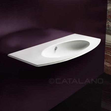 Catalano Velis Umywalka wisząca 102x51 cm z powłoką CataGlaze, biała 1102VL00