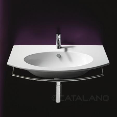 Catalano Velis Umywalka wisząca 82x49 cm z powłoką CataGlaze, biała 182VL00