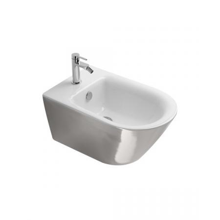 Catalano Zero Bidet podwieszany 55x35 cm z powłoką biały/srebrny 1BS55NRBA