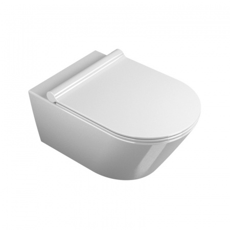 Catalano Zero/Impronta Toaleta WC podwieszana 55x35 cm Newflush bez kołnierza z powłoką CataGlaze, biała 1VS55NR00