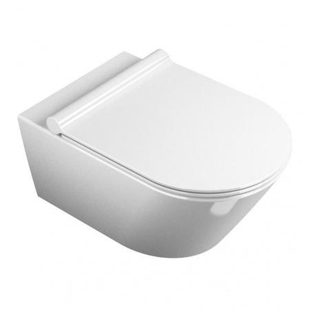 Catalano Zero Muszla klozetowa miska WC podwieszana 55x35 cm, biała 1VS55NBM
