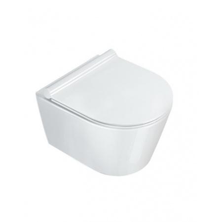 Catalano New Zero Toaleta WC podwieszana 46x35 cm Newflush bez kołnierza, biała 1VSZ46R00