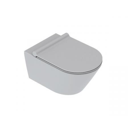 Catalano Zero Toaleta WC podwieszana 54x35 cm Newflush bez kołnierza satin cement 1VS55NRCS